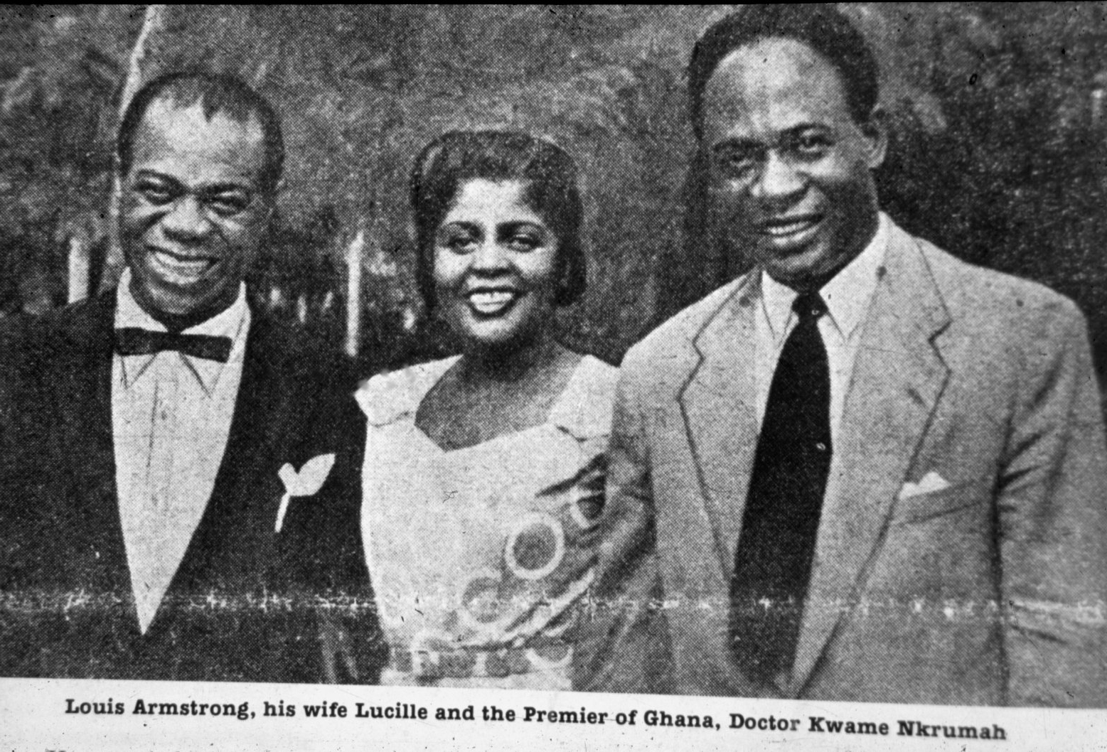 Nkrumah and Armstrong, 1956