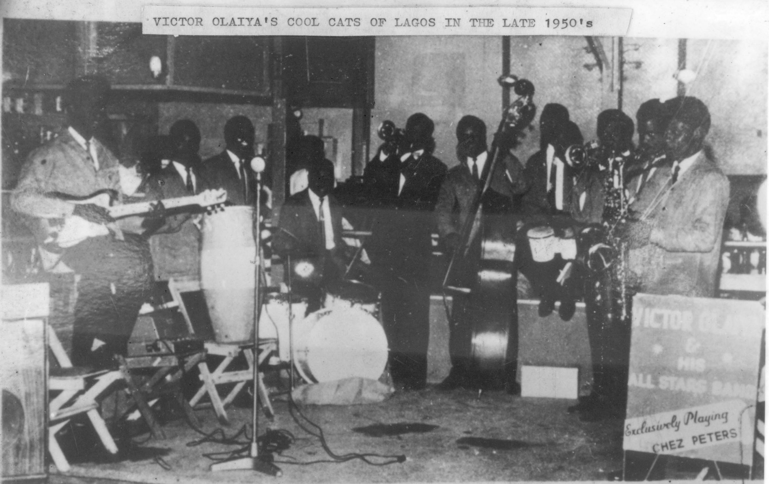 Victor Olayia's All Stars Band Lagos1960s